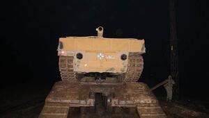 Sınıra tank sevkıyatı sürüyor