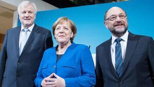 Koalisyon için önce liderler görüştü