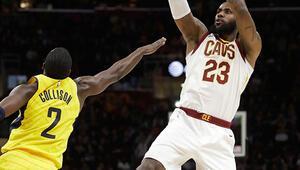 Cavaliers, LeBron ile kazandı