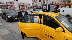 Taksicilerin bir günlük kazancı Mehmetçiğe