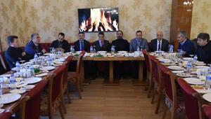 Malatyaspor ve Sivasspor yöneticileri bir araya geldi