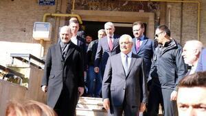 Bakan Soylu, Ekrem Görkem Karakanın ailesini ziyaret etti