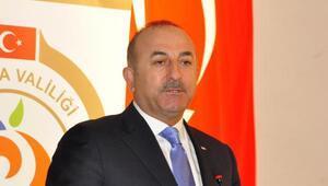 Bakan Çavuşoğlu: Sınırın öbür tarafında da PKKyı, YPGyi gömüyoruz