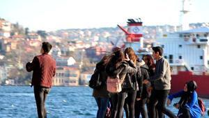 İstanbul kar beklerken bahar geliyor