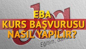 EBA E-Kurs öğretmen başvurusu nasıl yapılacak EBA başvuru sayfası
