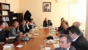 2018in koordinasyon toplantısı Pehlivanköyde düzenlendi
