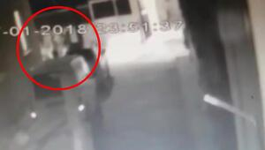 CHPli başkanın kız kardeşine çirkin saldırı kamerada