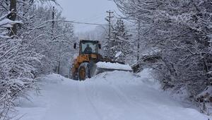 Posofta kar, ulaşımı olumsuz etkiledi