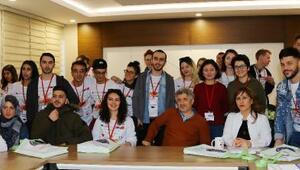 Uluslararası öğrencilerden Organ Nakli Merkezine ziyaret