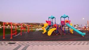 Tekirdağ'ın çehresi park ve bahçelerle güzelleşiyor