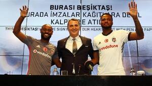Beşiktaşın yeni transferleri Vagner Love ve Cyle Larin imzayı attı