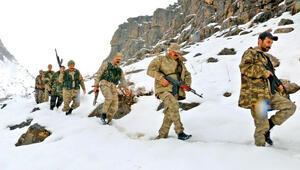 1 metre karda operasyon