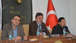 Korkuteli Belediye meclisi toplandı