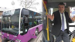 İstanbulda korkutan otobüs kazası Sürücü: Direksiyon kilitlendi