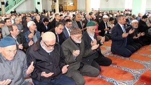 Afrindeki askerler için dua edildi