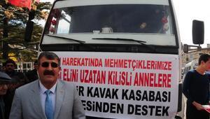Nevşehir'den Mehmetçiğe patates gönderildi