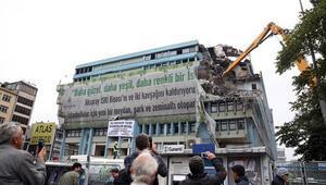 O binanın akibeti belli oldu... İki yıl önce yıkılmıştı