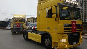 Niğde'de Afrin için 200 araçlı konvoy