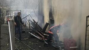 Apartmanın kazan dairesinde yangın çıktı; itfaiye 6 kişiyi kurtardı
