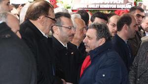 Başsavcı Hadi Salihoğlunun babası son yolculuğuna uğurlandı
