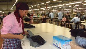 Tekstilciler Mardine çıkartma yaptı