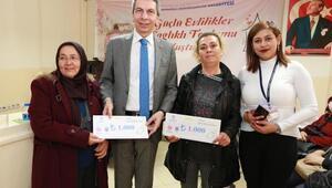 Büyükşehirden 35 kadına toplam 75 bin TLlik destek