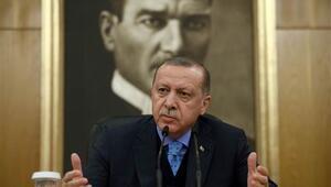 Cumhurbaşkanı Erdoğandan havalimanında son dakika açıklamaları...