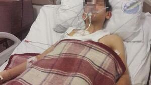 Avda kazayla arkadaşını vurdu