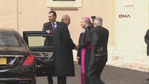 Cumhurbaşkanı Erdoğan Vatikanda