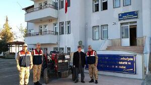 Kiliste çalınan traktör Gaziantepte ele geçirildi