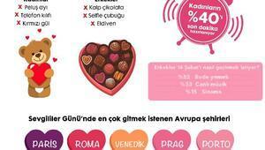Sevgililer Günü'nde kadınlar peluş ayı hediyesi istemiyor