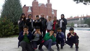 Altınözü Kaymakamlığı Wushu Takımı Antalya'da