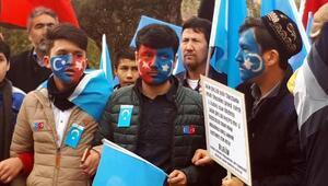 Doğu Türkistandaki Gulca katliamı Ankarada protesto edildi