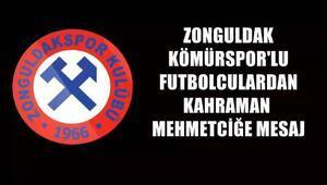 Zonguldak Kömürspordan Afrindeki Mehmetçiğe klipli destek