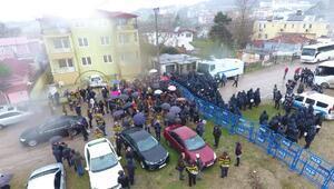Sinopta nükleer karşıtlarına polis müdahalesi