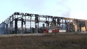Parfüm fabrikasında hasarın boyutu gün ağarınca ortaya çıktı