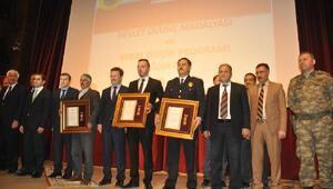 Iğdırda Devlet Övünç Madalyası ve Beratı töreni düzenlendi