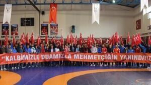 Türkiye Güreş Federasyonundan Zeytin Dalı Harekatına destek