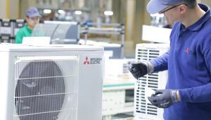 Avrupa'daki ilk ev tipi klima fabrikasını Manisada kurdu