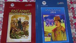 Karslı çocuklar tarihi cizgi romanlardan öğrenecek