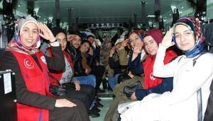 Gençlik merkezi gönüllülerinden Jandarmaya destek ziyareti