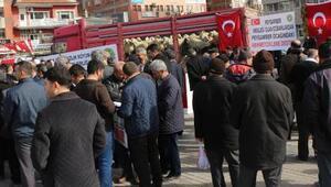 Kırıkkaleli çobanlardan Afrindeki Mehmetçiklere 71 kurbanlık