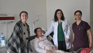 Kırıkkale'de ilk kez yüz germe ameliyatı yapıldı