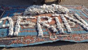 YPGli teröristlere gönderilen 250 bin cesaret verici hap ele geçirildi