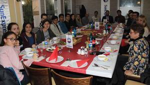 Antalyalı öğrencileri Frankfurt'ta ağırladı