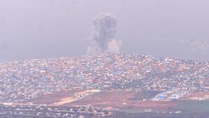 Teröristler ateş altında... Cinderesten dumanlar yükseliyor