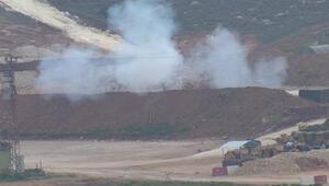 YPG hedefleri  Fırtına Obüsü Ve Çnralar ile vuruluyor