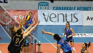 Çanakkale Belediyespor - VakıfBank: 1-3