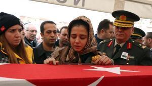 Şehit Pilot Üsteğmenin cenazesi, Kırıkkalede toprağa verildi