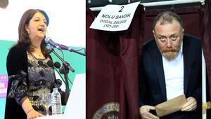 HDPnin yeni eş genel başkanları Buldan ve Temelli